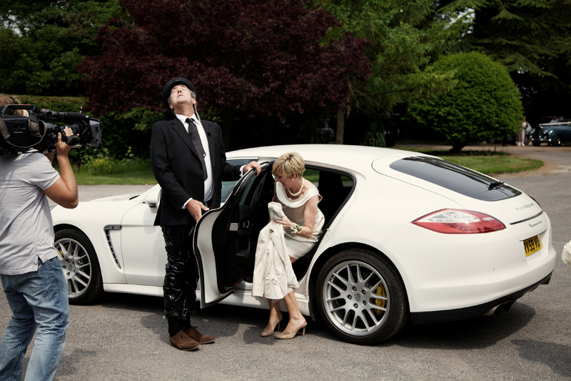 Charley Smith photographs Top Gear wedding
