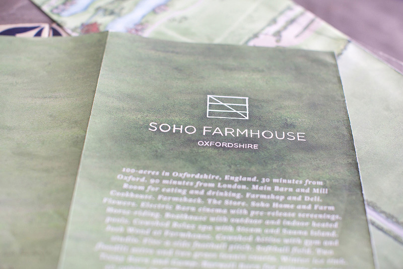 Engagement Photographer - Soho Farmhouse brochure